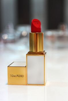 Tom Ford ♥ by Sairz*.  I don't have this particular red but I have a coral and it's very rich and nice