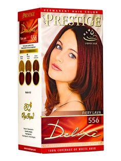 Vopsea pentru par Prestige Deluxe - Prestige Deluxe este o crema coloranta profesionala ce hraneste parul in aceeasi masura in care îl coloreaza, acoperind 100% firele albe. Pentru par mult mai matasos si stralucitor. Permanent Hair Color, White Hair, Mai, Gray Hair