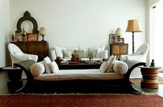 Design ideas indian style for small flats smithpact image is part of small living Home Decor Bedroom, Living Room Decor, Living Rooms, Inspiration Design, Design Ideas, Indian Interiors, Decor Scandinavian, Lounge, Eclectic Decor