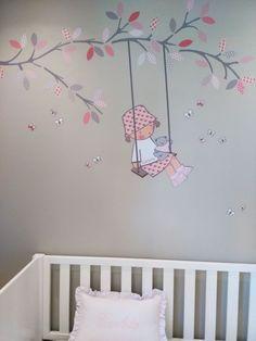 vinilos decorativos para habitaciones infantiles de #stencilbarcelona