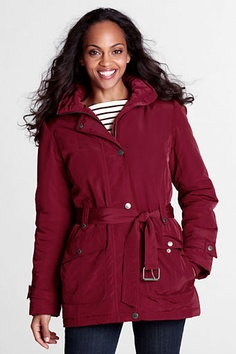 Women's Luxe Insulator Parka from Lands' End