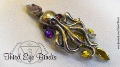 Purple Guard – tribal steampunk bindi