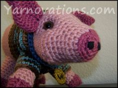 FREE Pork Chop Pig AND Boar Freebie Ami patterns. Actually links to accessories, the pig is another link.