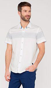 Leisure shirt in white