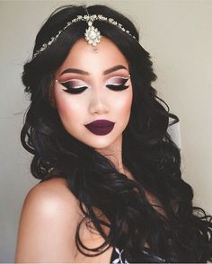 Dramatic make up ideas gorgeous eye makeup. Makeup Goals, Makeup Inspo, Makeup Art, Makeup Inspiration, Hair Makeup, Makeup Ideas, Makeup Trends, Makeup Lips, Dead Makeup