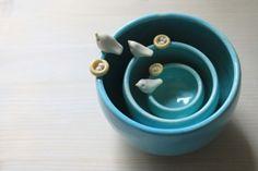 bird bowls. so tweat....i mean sweet. :)