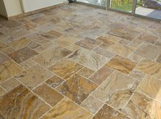 Scabos Standard / Antique Pattern / Brushed, Chiseled, and Partially Filled