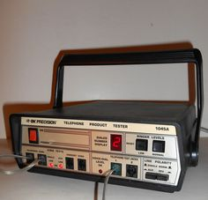 vintage BK PRECISION model: 1045A TELEPHONE PRODUCT TESTER , Unit tested &…