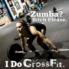 CROSS FIT - not a fan of posting things with swear words, but kinda how I feel.  Love Cross Fit!
