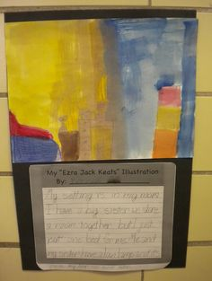 Author Study: Ezra Jack Keats -- texture, setting and illustrator (Primary Possibilities) Readers Workshop, Writer Workshop, Whistle For Willie, Cynthia Rylant, Ezra Jack Keats, Party Giveaways, Five In A Row, Reading Street, First Grade Reading