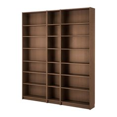 BILLY Knihovna IKEA Nastavitelné police; prostor mezi policemi si můžete přizpůsobit svým potřebám. Povrch vyrobený z přírodní dřevěné dýhy.