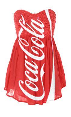 Coca-Cola dress