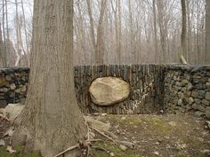 andy goldsworthy, Bedford, NY by Andersen-Federico, via Flickr ::: Andrew Goldsworthy is a famous artist who uses nature to create his projects. I find his work deeply moving and inspirational.