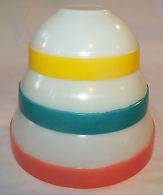 vintage pyrex bowls #eBayCollection #FollowItFindIt #spon
