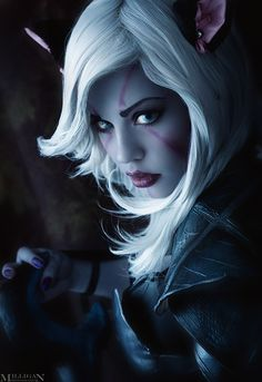 DotA 2 - Drow Ranger - Kitty by MilliganVick.deviantart.com #cosplay