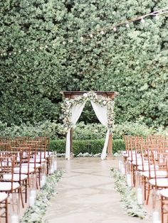 These two city dwellers wanted to swap the hustle and bustle for a serene outdoor wedding, and an intimate garden affair in San Juan Capistrano perfectly fit the bill. With Ether & Smith behind the camera and Amari Productions filming, they