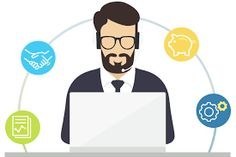 Outsourcing telemarketing services can help your organization grow better. Hire reliable call centre services for your needs. Philippines, Business, Searching, Search, Store, Business Illustration