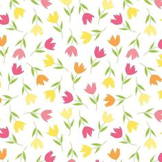 Florals all over by Amanda Gomes • delightedco.com #delightedpatterns