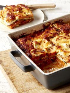 Zucchini and Sweet Potato Lasagne Recipe   myfoodbook