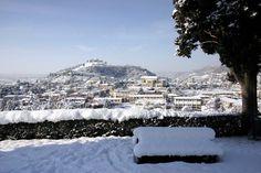 Dicembre 2005: panorama innevato da San Rocco - http://www.gussagonews.it/panorama-innevato-gussago-san-rocco-2005/