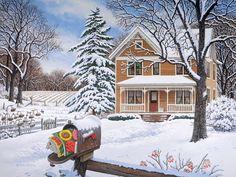 Winter Garden JohnSloaneArt.com - John Sloane - Gallery - Winter