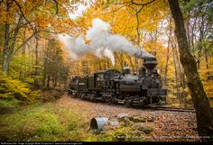 RailPictures.Net Photo: CSRR 4 Cass Scenic Railroad Shay at Cass, West Virginia by Walter Scriptunas II - www.scriptunasimages.com