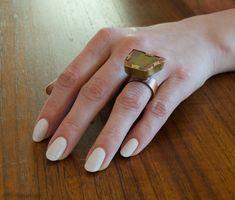 A unique ring, brass, copper and unusual jasper. Unique Rings, Statement Rings, Jasper, Jewelry Making, Brass, Handmade, Hand Made, Jewellery Making, Make Jewelry