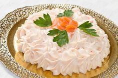 mousse crema salmone