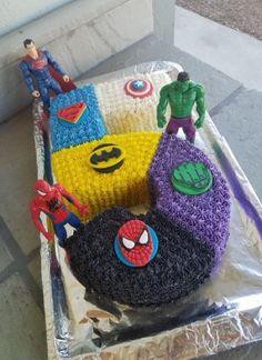 Birthday Cake Ideas For Boys Super Heros Superman 54 Best Ideas - Baby Avengers Birthday Cakes, Superhero Birthday Cake, 3rd Birthday Cakes, Batman Birthday, Batman Party, Super Hero Birthday, Superhero Party, Birthday Cake Kids Boys, Birthday Games