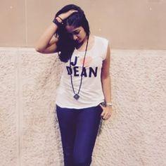 #actress #zurich8001 #wearing #WLCnecklace #BrandAmbassador #WLCxTCV Social Organization, Brand Ambassador, Actresses, T Shirts For Women, How To Wear, Shopping, Tops, Design, Fashion