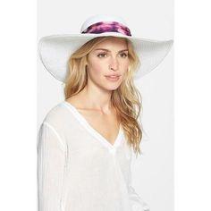 Women's Badgley Mischka Straw Sun Hat #accessories #badgleymischka #women #designer #covetme