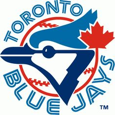 Toronto Blue Jays Primary Logo (1977) - A Blue Jay head with a maple leaf on a baseball surrounded by team name.