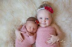 Jacksonville NC newborn photographer | newborn with sister | newborn sibling photography ideas