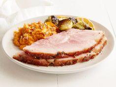 Brandy Peppercorn Honey Glazed Ham Recipe : Food Network Kitchen : Food Network - FoodNetwork.com