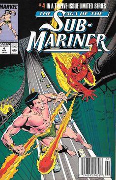 Saga of the Sub-Mariner  # 4 Marvel Comic