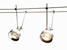 wire suspended spotlight