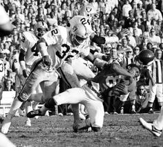 Jack Tatum hit people so hard their helmets flew off. end of story...HIT YOU SO HARD WHEN YOU WOKE UP YOU THOUGHT YOU WERE IN LAST WEEK AND LATE FOR THE GAME....JK