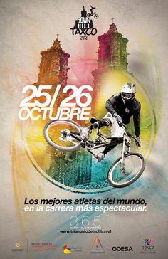 Para aquellos amantes de lo extremo el evento Down Hill Taxco se llevará a cabo en el paradisíaco municipio de Taxco de Alarcón en el estado de Guerrero los días 25 y 26 de octubre, sin duda un evento lleno de adrenalina y emoción.