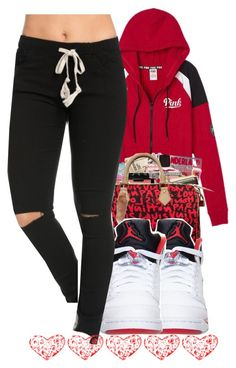 """""""Untitled #416"""" by christianna-futrell ❤ liked on Polyvore featuring Victoria's Secret and Retrò"""
