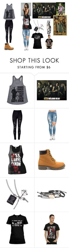 """""""Who else ❤️'s the Walking Dead?????"""" by karhoades-2 ❤ liked on Polyvore featuring Hot Topic"""