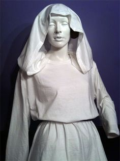 Princess Leia costume made from two white T-Shirts. (*nods approvingly*) Mmm-hmm!
