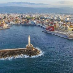 Lighthouse of Chania town Crete