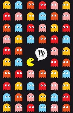 Im addicted to pacman and this really stresses me out!