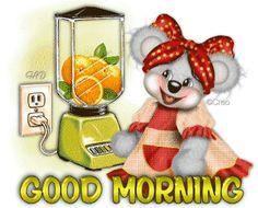 Good Morning - Teddy Bear Blending Juice