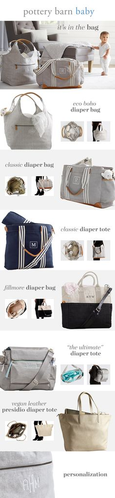 Trying to find the perfect diaper bag? Take a closer look at our seven most popular bags made with helpful features like changing pad inserts and cross-body straps. - Diaper Bags - Ideas of Diaper Bags Baby Boys, Our Baby, Carters Baby, Baby Must Haves, Everything Baby, Baby Needs, Baby Time, Baby Hacks, Baby Registry