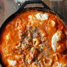 Tortellini Skillet Lasagna