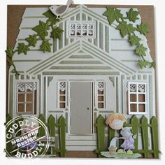 Marianne Design Craftables Cutting Die - Scandinavian House CR1217
