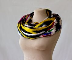 Mulberry Whisper: Silk Ikat Infinity Scarf Giveaway