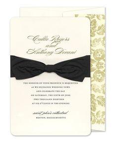 Belle Invitations - Checkerboard (