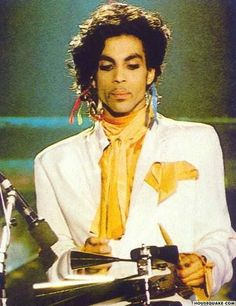 """Sign """"☮"""" the Times Tour A very rare WHITE Camille outfit, I remember requesting this photo at HQ from where it was only every printed on - a bootleg vinyl LP cover! Sheila E, Sign O' The Times, The Artist Prince, Paisley Park, Roger Nelson, Prince Rogers Nelson, Purple Reign, My Prince, Beautiful One"""